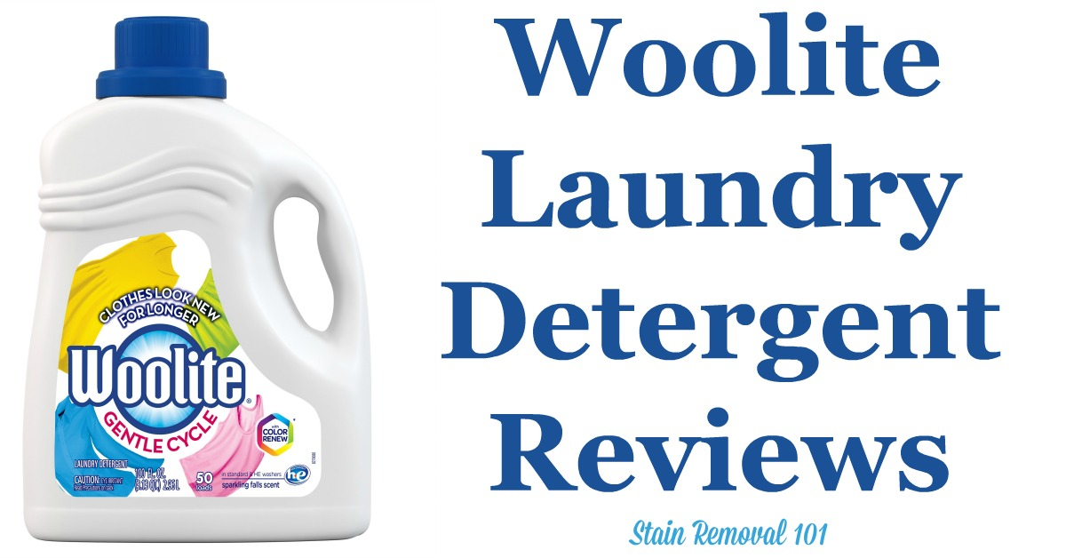 Here is a comprehensive guide about Woolite detergent, for delicate fabrics as well as other fabrics, including reviews and ratings of this brand of laundry supply for different scents and varieties {on Stain Removal 101}