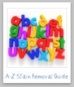 a to z stain removal guide
