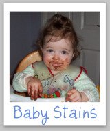 remove baby stains