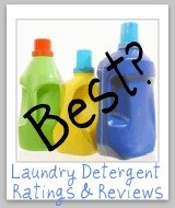 laundry detergent bottles