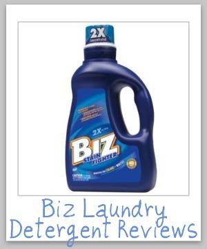 biz laundry detergent