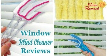 Window blind cleaner reviews