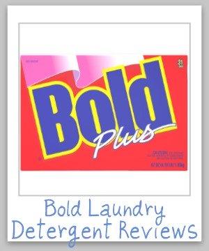 bold laundry detergent