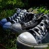 canvas tennis shoes