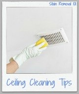 ceiling cleaning tips