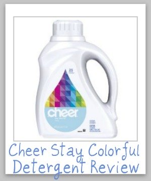 cheer detergent review