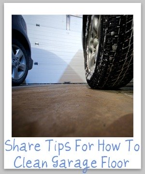 How to clean garage floor hints and tips for How to clean garage floor