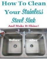 How to clean your stainless steel sink and make it shine