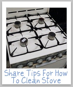 clean stove
