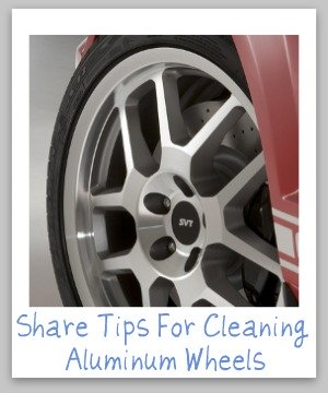 cleaning aluminum wheels