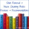 stain removal and cleaning books reviews and recommendations