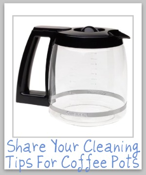 How To Clean Coffee Pot Tips And Instructions