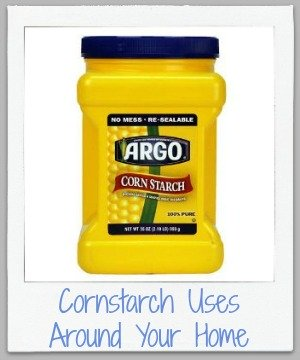 cornstarch uses around your home