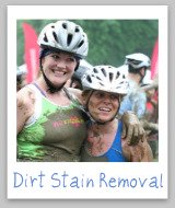 removing dirt stains