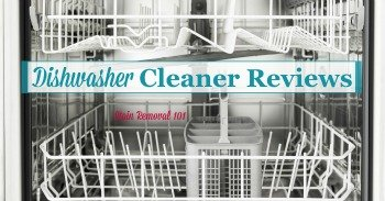 Dishwasher cleaner reviews