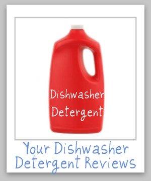 dishwasher detergents reviews
