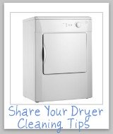 dryer cleaning tips