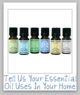 essential oil uses for cleaning