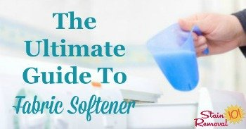 The ultimate guide to fabric softener