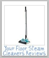 reviews of floor steam cleaners