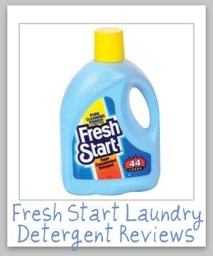 fresh start laundry detergent