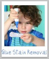 glue stain