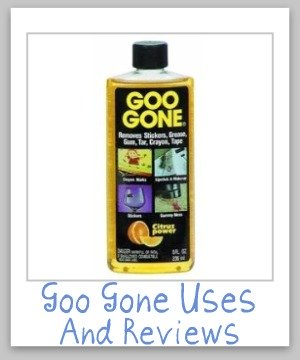 Goo Gone Uses For Cleaning And Stain Removal