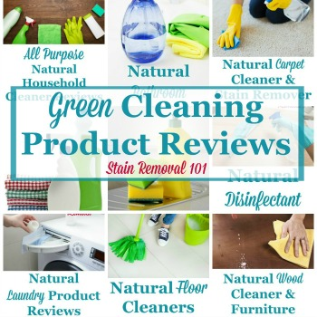 Green cleaning product reviews