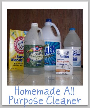 homemade all purpose cleaner all purpose cleaner recipes 31662