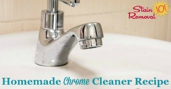 Homemade chrome cleaner and polish recipe