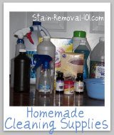 homemade cleaning supplies