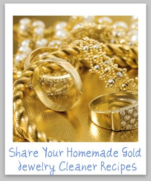 homemade gold jewelry cleaner