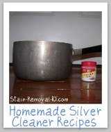 homemade silver cleaner recipes