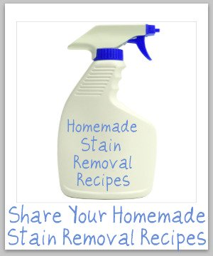 homemade stain removal