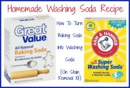 homemade washing soda recipe