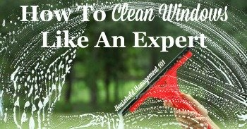 How to clean windows like an expert