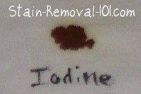 iodine stain