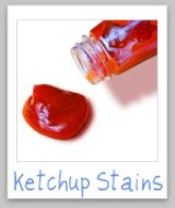 ketchup stain removal