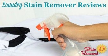 Laundry stain remover reviews
