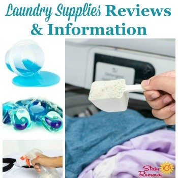 Laundry supplies reviews and information