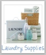laundry supplies