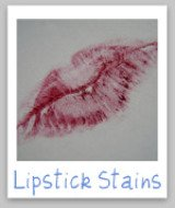 how to get lipstick stains out of clothes