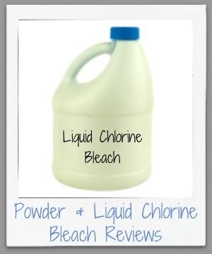 powder & liquid chlorine bleach reviews