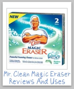 Mr Clean Magic Eraser Reviews Uses For Stain Removal