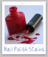 spilled nail polish