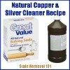 natural copper & silver cleaner recipe