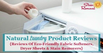 natural laundry product reviews