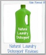 natural laundry detergent reviews