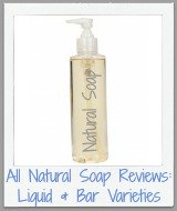 all natural soap reviews