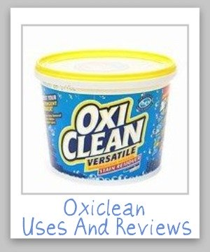 The Ultimate Guide to Oxiclean, including how to use it for presoaking, cleaning carpets ...